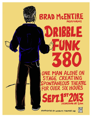 Brad McEntire performs Dribble Funk 380